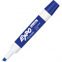 SAN80003 - Expo 2 Low Odor Dry Erase Marker Chisel Tip Blue in Markers