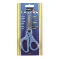 SAR220905 - Childs Safety Scissors 5 In Pointed Tip On Card Left Or Right Handed in Scissors