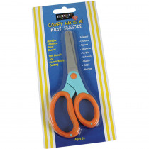 SAR220907 - Childs Comfy Grip Scissors 5 In Blunt Tip On Card in Scissors