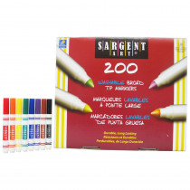 SAR221525 - Broad Tip Washable Classpack in Markers