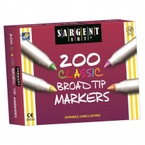 SAR221527 - Markers Best Buy Assort 8 Colors Broad Tip 200/Markers in Markers