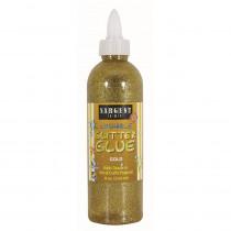 SAR221981 - 8Oz Glitter Glue - Gold in Glitter