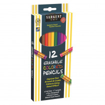 SAR227203 - 12Ct Sargent Erasable Clrd Pencil in Colored Pencils