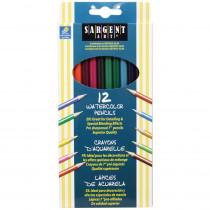 SAR227204 - 12Ct Sargent Watercolor Pencil 7 In in Colored Pencils