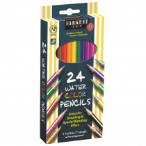 SAR227205 - 24Ct Sargent Watercolor Pencil 7 In in Colored Pencils