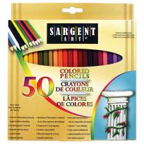 SAR227251 - Colored Pencils 50 Color Set in Colored Pencils