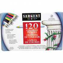 SAR227252 - Sargent Art Colored Pencils 120 Colors in Colored Pencils