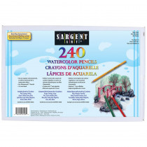 SAR227253 - 240Ct Sargent Watercolor Pencil Best Buy Assortment 7 In in Colored Pencils