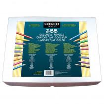 SAR227293 - Sargent Art Colored Pencils 288 Pencils in Colored Pencils