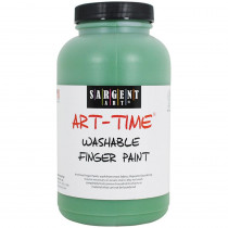 SAR229466 - 16Oz Washable Finger Paint Green in Paint