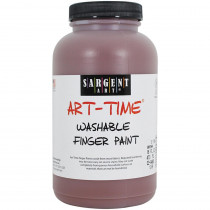 SAR229488 - 16Oz Washable Finger Paint Brown in Paint