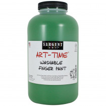 SAR229566 - 32Oz Washable Finger Paint Green in Paint