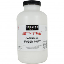 SAR229596 - 32Oz Washable Finger Paint White in Paint