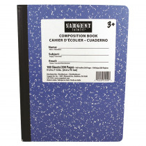 SAR231550 - Blue Composition Book 100 Sheets in Note Books & Pads