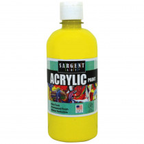SAR242402 - 16Oz Acrylic Paint - Yellow in Paint