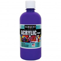 SAR242442 - 16Oz Acrylic Paint - Violet in Paint