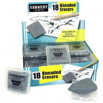 Kneaded Erasers Class Pack, Pack of 18 - SAR361018 | Sargent Art  Inc. | Erasers