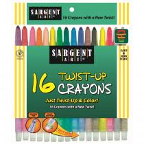 SAR550981 - 16 Ct Twist Up Crayon in Crayons