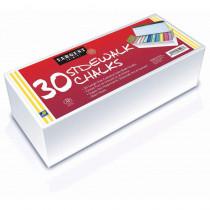 SAR665098 - 30Ct Sidewalk Chalk Best Buy Assortment in Chalk