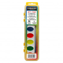 SAR668222 - Watercolor 8 Fluor Colors in Paint