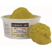 SAR853102 - 1Lb Art Time Dough - Yellow in Dough & Dough Tools