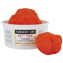 SAR853114 - 1Lb Art Time Dough - Orange in Dough & Dough Tools