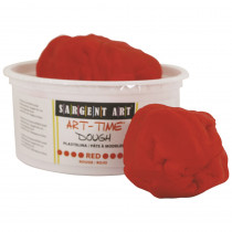 SAR853120 - 1Lb Art Time Dough - Red in Dough & Dough Tools