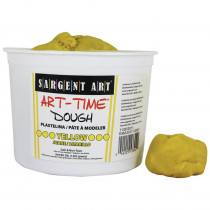 SAR853302 - 3Lb Art Time Dough - Yellow in Dough & Dough Tools
