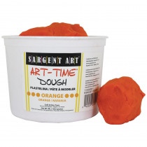 SAR853314 - 3Lb Art Time Dough - Orange in Dough & Dough Tools