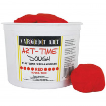 SAR853320 - 3Lb Art Time Dough - Red in Dough & Dough Tools