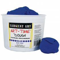 SAR853350 - 3Lb Art Time Dough - Blue in Dough & Dough Tools
