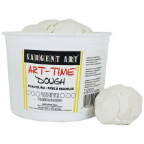 SAR853396 - 3Lb Art Time Dough - White in Dough & Dough Tools