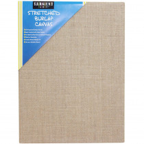 SAR902028 - Stretched Canvas 9 X 12 Burlap in Canvas