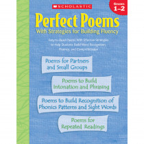 SC-0439438306 - Perfect Poems W/ Strategies For Building Fluency Gr 1-2 in Poetry