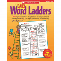 SC-0439513839 - Daily Word Ladders Gr 2-3 in Word Skills