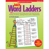 SC-0439773458 - Daily Word Ladders Gr 4-6 in Word Skills