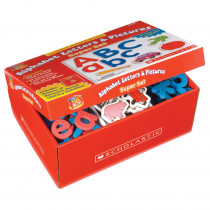 SC-0439838649 - Little Red Tool Box Alphabet Letters & Pictures Super Set in Letter Recognition