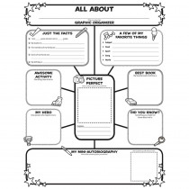 SC-0545015375 - All About Me Web Graphic Organizer Posters in Graphic Organizers