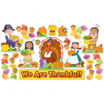 SC-546914 - We Are Thankful Bulletin Board Set in Holiday/seasonal