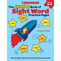 SC-548972 - The Jumbo Book Of Sight Word Practice Pages in Sight Words