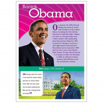SC-553118 - Obama Pop Chart Notable African Americans in Holiday/seasonal