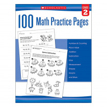 SC-579938 - 101 Math Practice Pages Gr 2 in Activity Books
