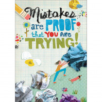 SC-581940 - Mistakes Are Pop Chart in Motivational