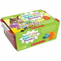 SC-584287 - Nonfiction Sight Word Readers Lvl C Classroom Tub in Sight Words