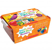 SC-584288 - Nonfiction Sight Word Readers Lvl D Classroom Tub in Sight Words