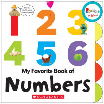 SC-662877 - Board Book My Fav Book Of Numbers Rookie Toddler in Classroom Favorites