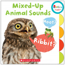 SC-675653 - Board Book Mixed Up Animal Sounds Rookie Toddler in Classroom Favorites