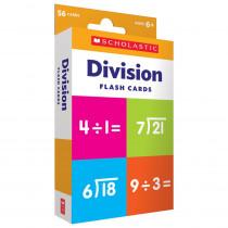 Flash Cards: Division - SC-714739 | Scholastic Teaching Resources | Multiplication & Division