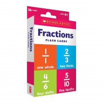 Flash Cards: Fractions - SC-714841 | Scholastic Teaching Resources | Fractions & Decimals