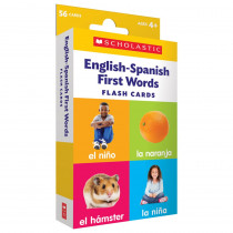 Flash Cards: English-Spanish First Words - SC-714845 | Scholastic Teaching Resources | Flash Cards